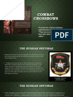 Survive the Zombie Apox. SW 4 Combat Crossbows