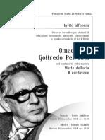Nicola Cisternino, Omaggio a Petrassi - Il Cordovano - La Morte Dell'Aria