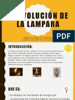 Eolucion de La Lampara
