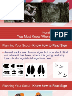 Survive the Zombie Apocalypse H7 Hunting - Know How to Read Animal Signs