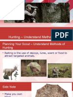 Survive The Zombie Apox. H8 Hunting – Understand Methods of Hunting
