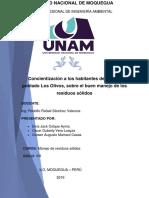 Informe de Caracterizacion de RRSS 1,2,3