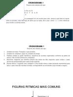 CRONOGRAMA 1 Resumo Dos Estudos Até Aqui