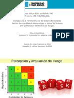 MODULO VA - Percepción y Evaluacion de Riesgo