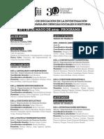 JiiiCSH 2019 Programa