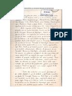 Acta de Fundacion de La Sociedad Peruana de Nefrologia