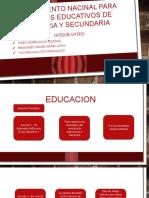 Reglamento Nacinal Para Locales Educativos de Primaria y
