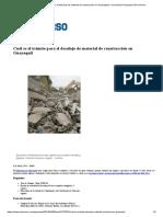 Cuál Es El Trámite Para El Desalojo de Material de Construcción en Guayaquil _ Comunidad _ Guayaquil _ El Universo