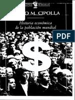 Carlo M. Cipolla - Historia Económica de La Población Mundial