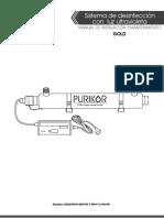Mi Manual de Instalación de una lampara uv 6G