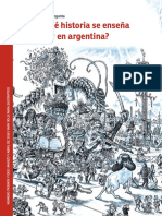 Que Historia Se Ensena Hoy en Argentina