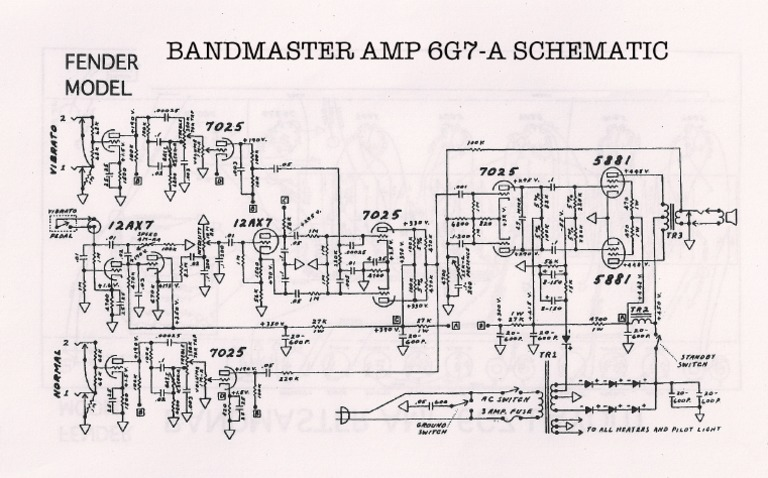 Bandmaster-6G7-A-Schematic.pdf Bandmaster Schematic on peavey reverb schematic, piping and instrumentation diagram, champ schematic, 5e3 schematic, twin reverb schematic, one-line diagram, technical drawing, functional flow block diagram, tube map, bassman schematic, circuit diagram, super reverb schematic, block diagram,