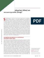 Is sacubitril /valsartan an antiarrhythmic drug?