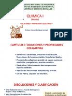 CAPÍTULO 6 Solucns y Prop Coligativas
