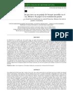 Dispersion de Semillas y Restauracion Pasiva en Un Bmm de Veracruz