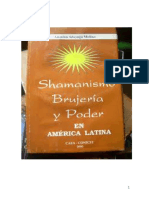 shamanismo  brujería y poder