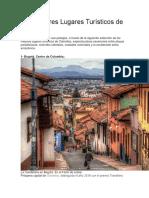 Los Mejores Lugares Turísticos de Colombia