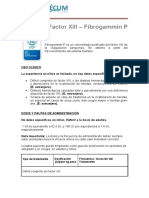 Factor XIII Fibrogammin