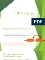 DSD RTL Coding Lec8
