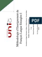 Différentes Méthodologies d'Enseignement Des Langues