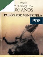 Pasión Por Venezuela - Pablo Neruda