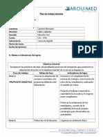 Plan de Trabajo Carmen Berroeta