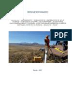 Informe Topografico Com. Huapaca Santiago
