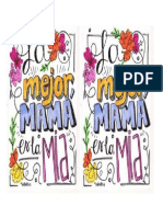 Carta Día de La Madre
