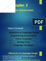 Programming Language Design Issues