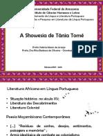 Tania Tomé Showesia