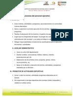 Manual de Organización Del IMCUFIDET