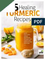 15 Healing Turmeric Recipes