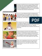 pecha kucha narrative - family and community