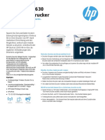 HP Deskjet 2630 Produktdatenblatt