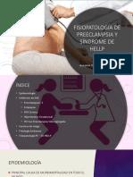 Fisiopatología de Preeclampsia y Síndrome de Hellp