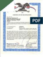 2016 - fda certificare - albducros tepelena llc 0001