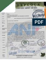 Adepcoca denuncia la falsificación de nota