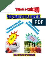 Procesamiento de Productos Lacteos 2019