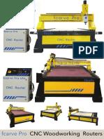 Fbots Fcarve Pro CNC Routers