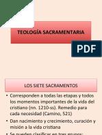 TEOLOGÍA SACRAMENTARIA