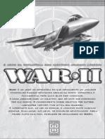 Manual de instruções WAR II
