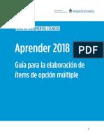 Guía Para La Elaboración de Ítems de Opción Múltiple. 17.07.2017 (1)