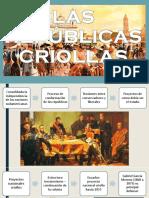 Repúblicas Criollas, Inmigración, Republicas Mestizas