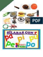 Kinder Serdadn Silabas Con p