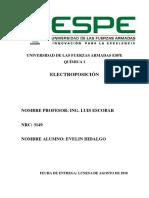 consulta electroposicion
