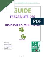 Guide de Tracabilité