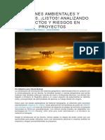 Drones Ambientales y Sociales