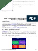 Reseña y Comparación de Las Normas Contables Especiales de Revalúo de Activos Por Única Vez