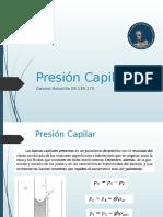 Presión Capilar