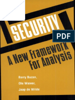 Buzan et al. 1998 Security a New Framework for Analysis